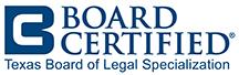 tx board of legal specialization logo